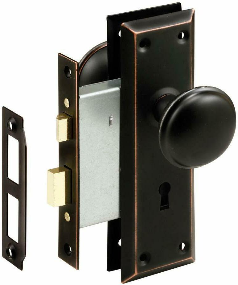Prime-Line Products Prime-Line E 2495 Mortise Keyed Knob –