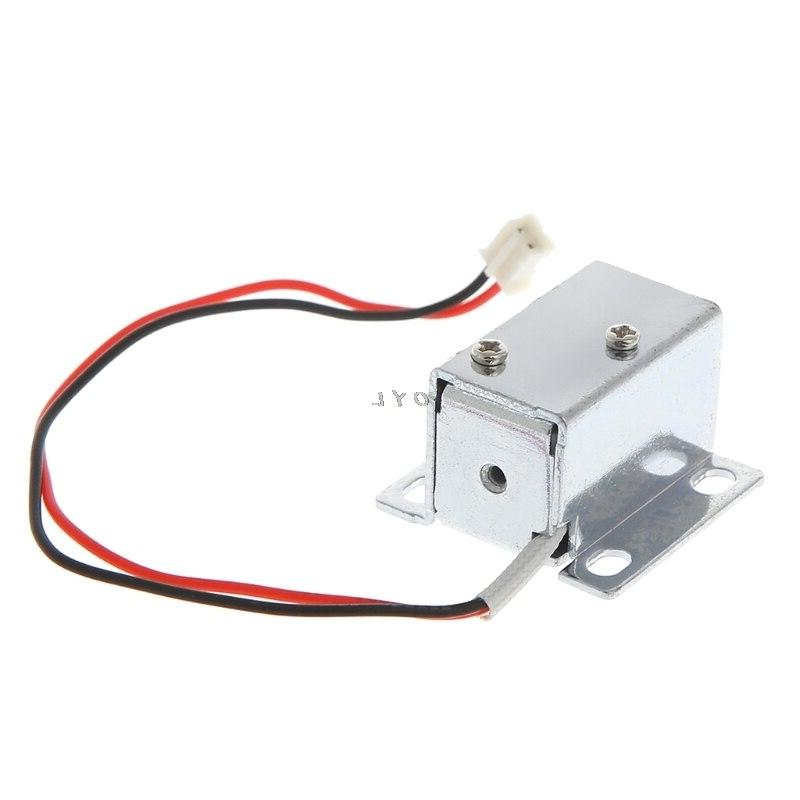 Electronic <font><b>Lock</b></font> Gate 12V 0.4A Release Assembly Solenoid