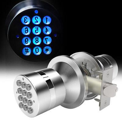 Electronic Locks Security Entry Digital Code Keyless Keypad