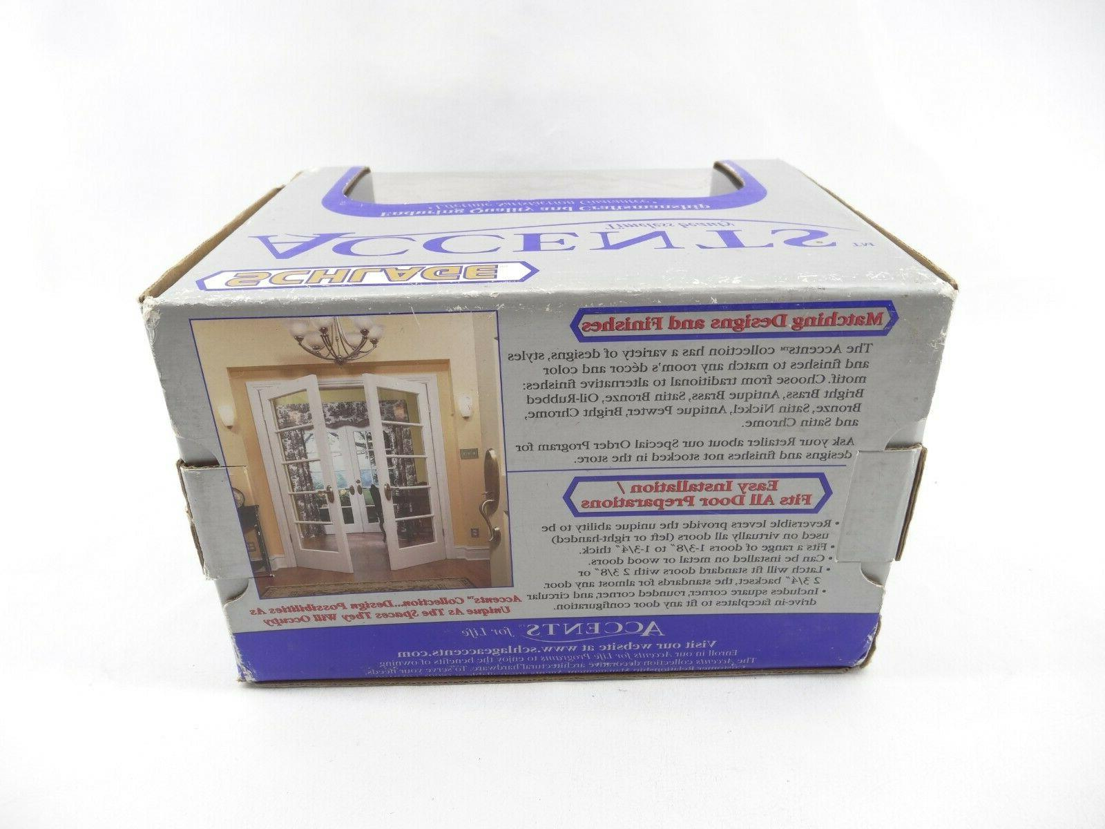 Schlage Lock V Collection Andover