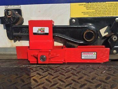 Heavy Duty Rolling Door Lock keyed semi trailer box truck lo