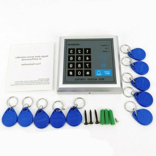 Control Electric Door Lock ID Key Card Password System Entry