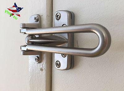Home Guard Safety Satin Swing Bar Entry Door Protection