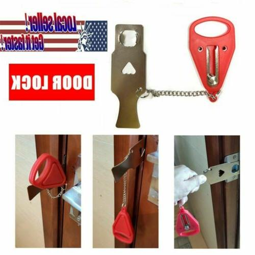 Tool  Safety Hardware Portable Security Door Lock Home Room