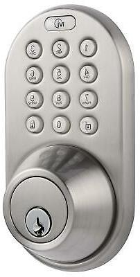 Keyless Security Deadbolt Door Lock Digital Touchpad Keypad