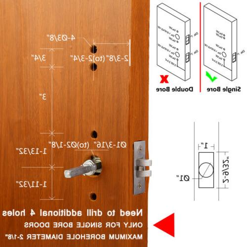 Mechanical Lock Entry Code Keypad Security Not