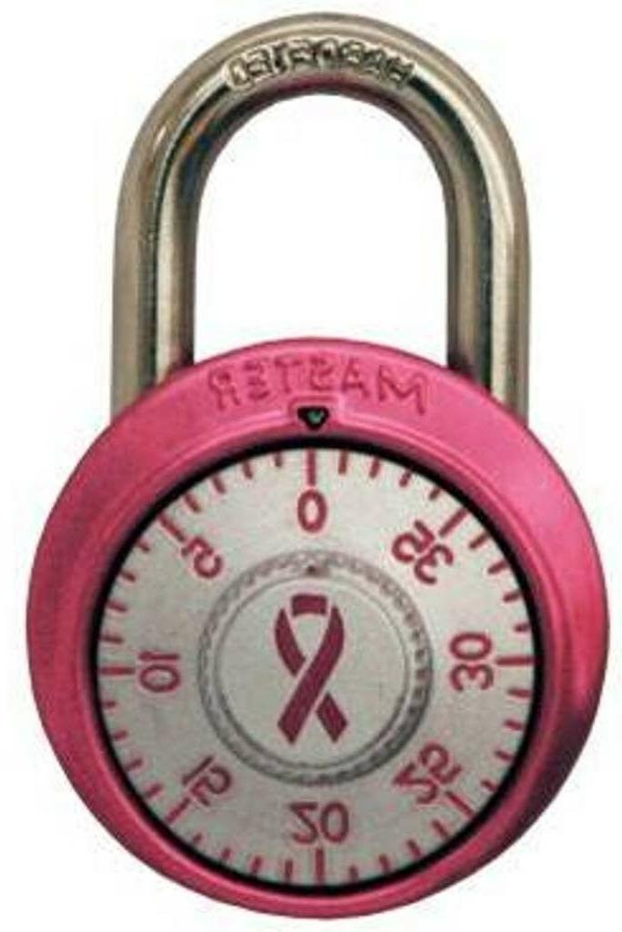 Pink Master Lock Padlock School Gym