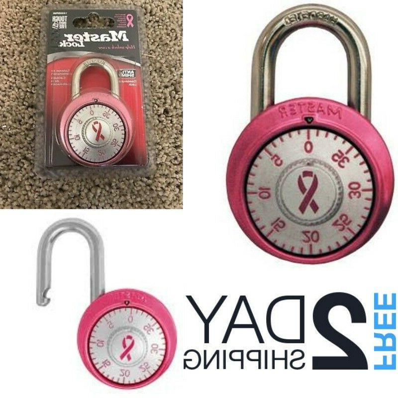 pink padlock school gym luggage locker combination