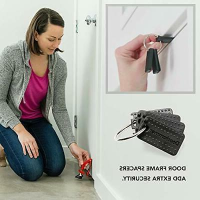 DoorJammer Portable Brace for Security and Personal
