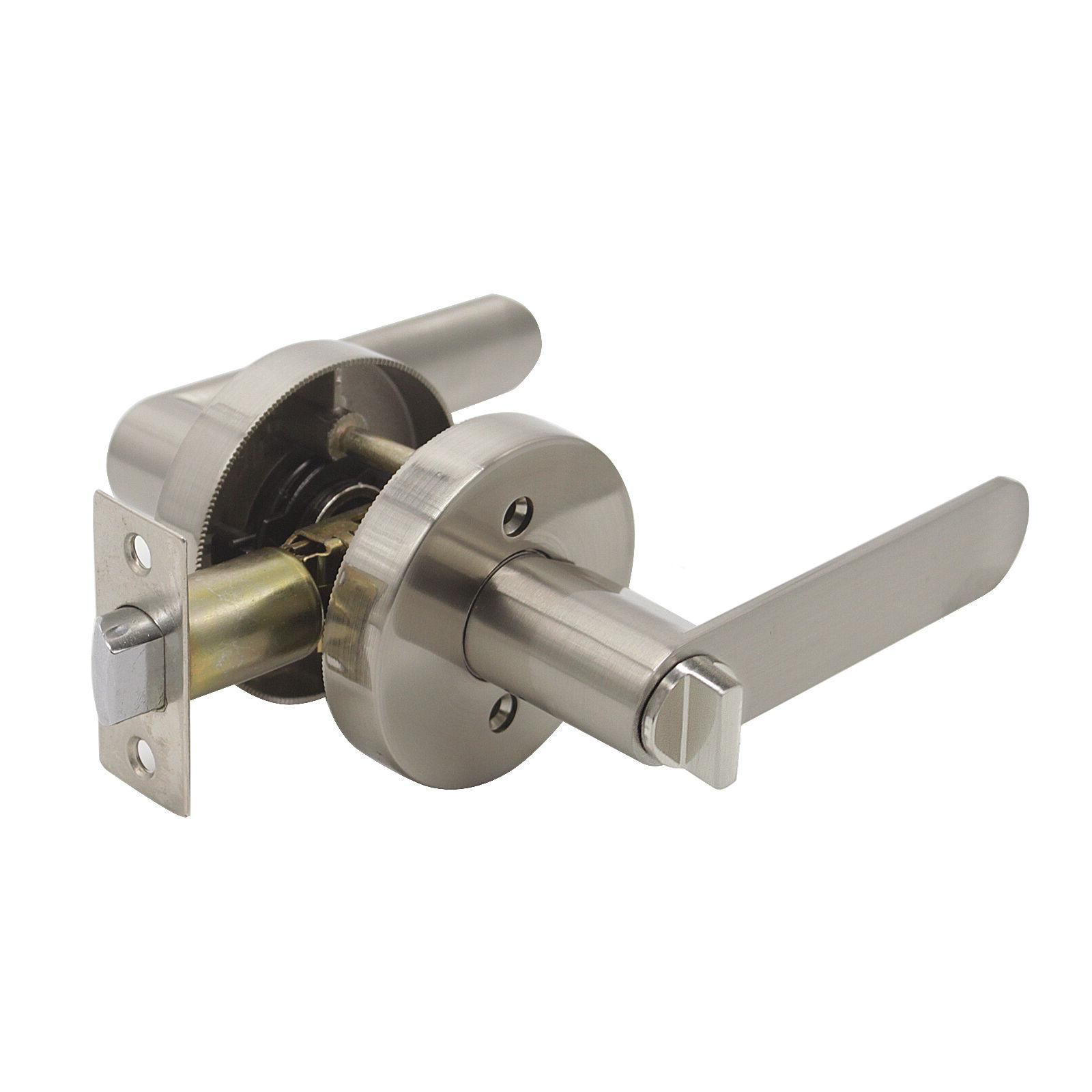 Privacy Square Knobs Lock Levers Keyless