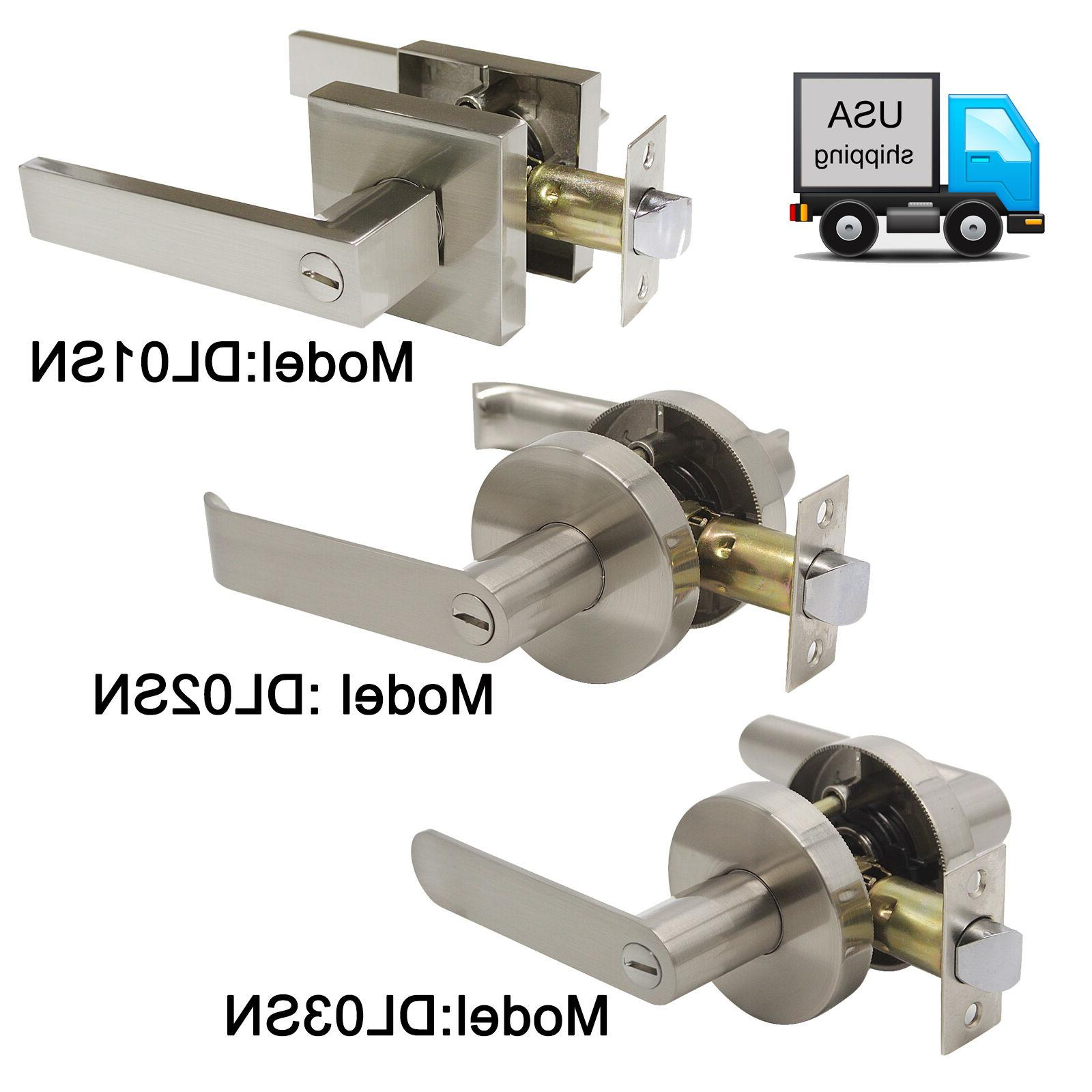 privacy round square door knobs door lock