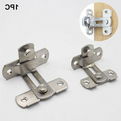 Hardware Stainless Steel Hasp Hotel 90 Degree Latch Security