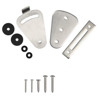 Silver Lock Latch Stainless Steel