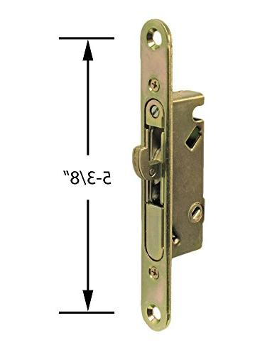 """FPL #3-45-S with Adapter Plate, 5-3/8"""" Screw Keyway- YZD Plating"""