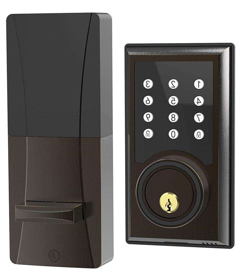 TURBOLOCK TL-201 Electronic Keypad Deadbolt Door Lock with C