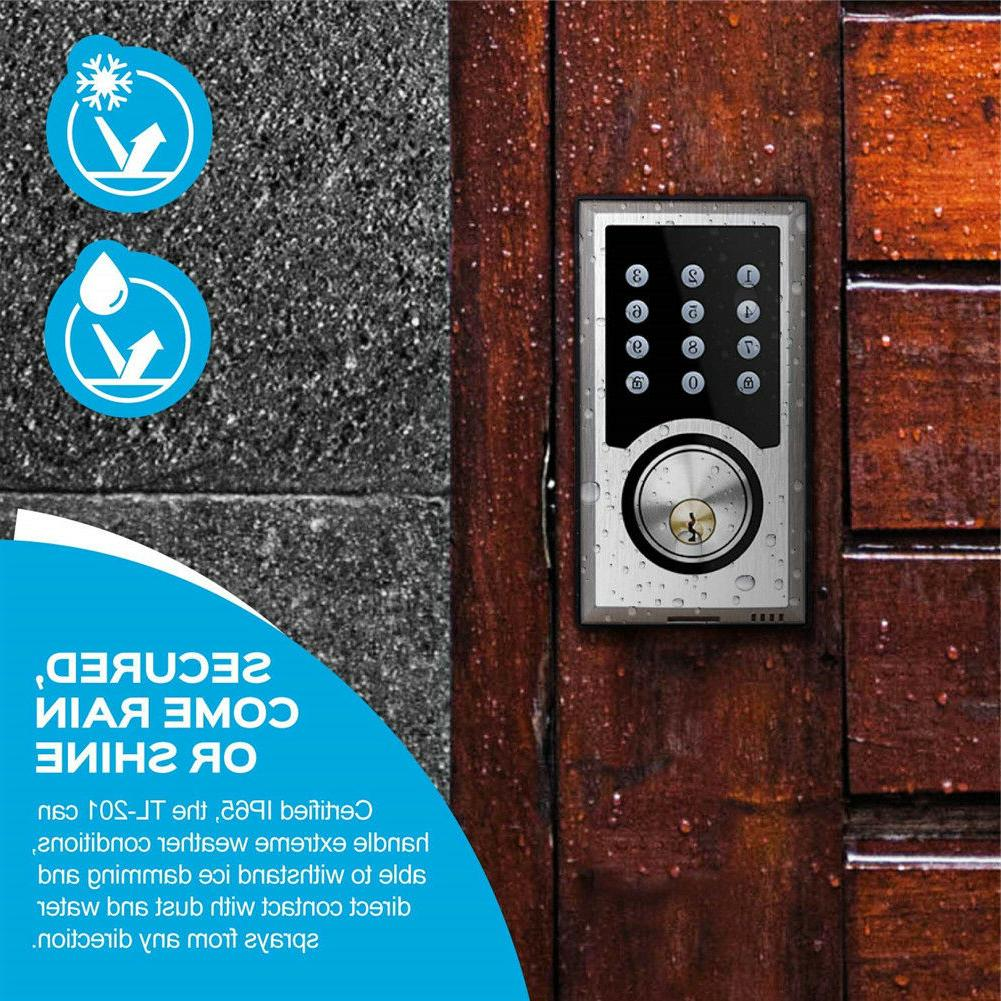 TURBOLOCK Electronic Deadbolt Code 21-User