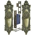 Victorian Rococo Style Yale Pattern with Gothic Door Knob Lo