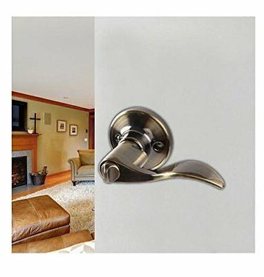 Ohuhu Wave Lever Entry Door Lock/ Knob and