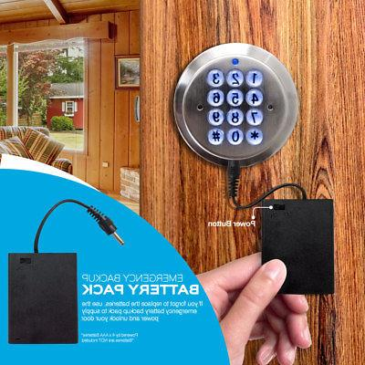 Turbolock YL-99-SS Door Keypad Entry Battery Backup