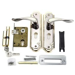 Lever Latch With <font><b>Handle</b></font> Front Back <font