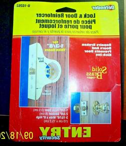 Defender Security Lock and door Reinforcer U 10263 New In Bo