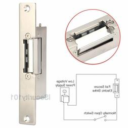 Narrow-Type Electric Strike Lock for Home Office Wood Metal