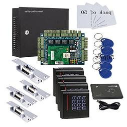 110V Security Network Door Access Control Board Kit Metal Po