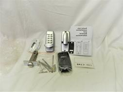 NEW Entry Door Keyless Deadbolt Door Lock Keypad Machinery D