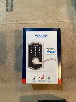 NEW Schlage Touch Keyless Touchscreen Lever Camelot Door Loc