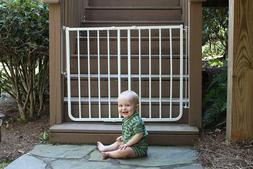 Cardinal Gates Outdoor Safety Gate, White