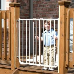 CARDINAL GATES OUTDOOR SAFETY GATES,WHITE,DISTRESSED PACKAGI