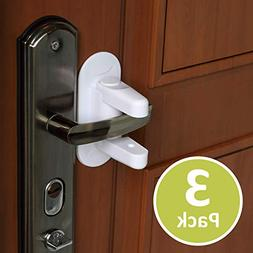 Outsmart Child Proof Door Lever Lock  - 3M Adhesive Child Sa