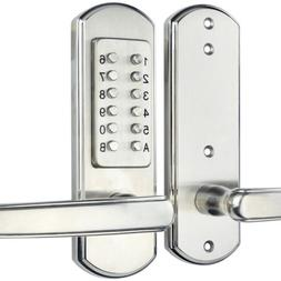 Keyless Entry Door Lock Mechanical Password Code Keypad Secu
