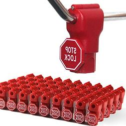 Peg Hook Stop Lock for Prevent The Sweep Theft of Displayed