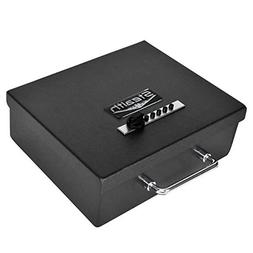Stealth Portable Handgun Safe PS1210EZ Pistol Box + Free 13.