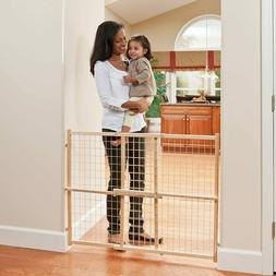 Evenflo Position and Lock Tall Pressure Mount Wood Gate 31-