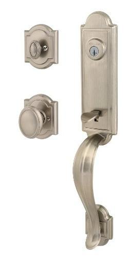 Prestige Avendale Single Cylinder Satin Nickel Handleset wit