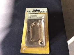 """Prime Line Pocket Door Privacy Lock & Pull 3-3/4"""" tall Solid"""