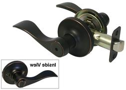 Privacy Oil Rubbed Bronze Lever Handle Door knob Locks Bedro