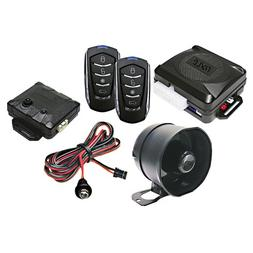 Pyle Car Alarm Security System - 2 Transmitters w/ 4 Button