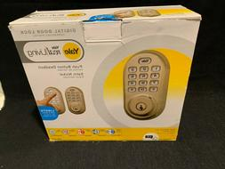 Yale Real Living Electronic Push Button Deadbolt Fully Motor