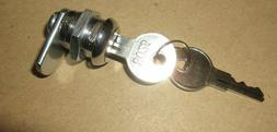 Replacement Lock & Key for Back Coin Door on Duncan Model 50