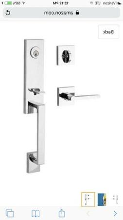 Baldwin Reserve  Single Cylinder Deadbolt Polished Chrome Do