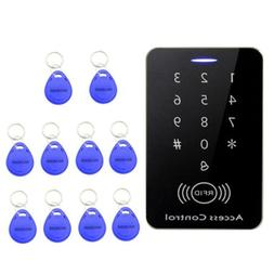 RFID Access Control System Security Entry Door Lock + 10PCS