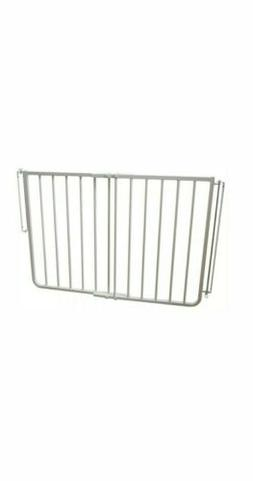 Safety Gate 30 in. H x 27 in. to 42.5 in. W x 2 in. D White