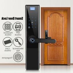 Security Electronic Smart Door Lock APP Touch Password Keypa