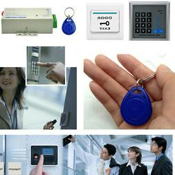 Security RFID Electric Door Keypad Lock Access Control ID Ca