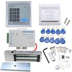 IMAGE Full set RFID Door Access Control system Kit With 500k