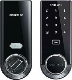 Samsung SHS-3321 Digital Door Lock, Black, NEW IN BOX *