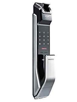 Samsung Digital Door Lock SHS-P718LBK/EN Fingerprint Push Pu